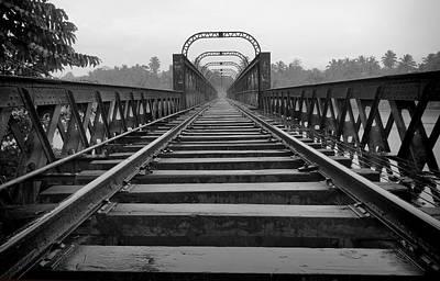 Railway Tracks Art Print by Sanjeewa Marasinghe