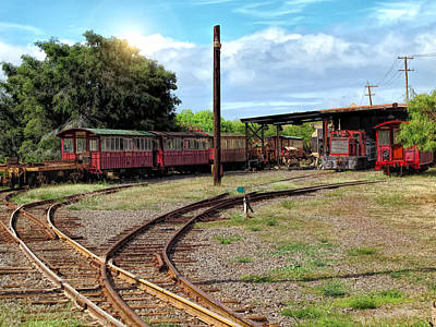 Photograph - Railyard 24 by Dawn Eshelman