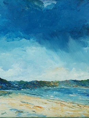 Painting - Rain A Comin by Conor Murphy