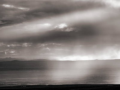 Photograph - Rain And Light by Leland D Howard