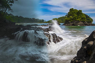 Photograph - Rain And Shine At Manuel Antonio Beach by Owen Weber