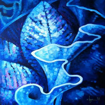 Painting - Rain by Angela Treat Lyon