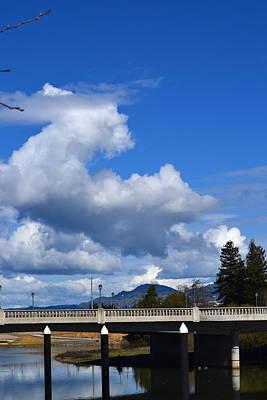 Photograph - Rain Clouds In Napa by Dean Ferreira