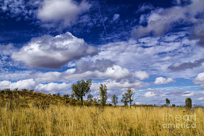 Photograph - Rain Clouds by Rick Bragan
