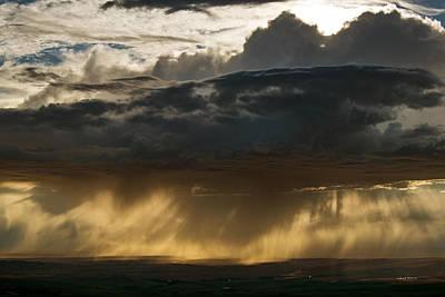 Photograph - Rain Drama by Leland D Howard