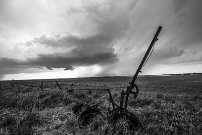 Rain Follows The Plow Art Print by Sean Ramsey