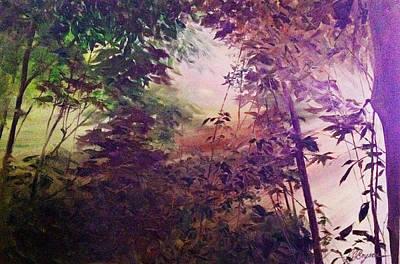 Rain Forest Rhapsody #1 Art Print