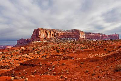 Monument Valley Utah Photograph - Rain God Mesa by Peter Tellone