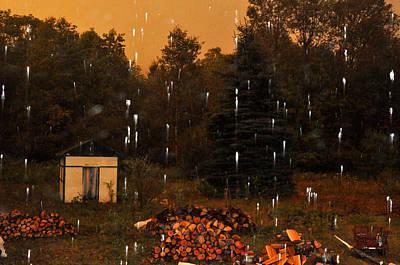 Rain In The Adirondacks Art Print