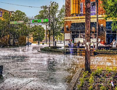 Street Photograph - Rainy Day. by Viktor Birkus