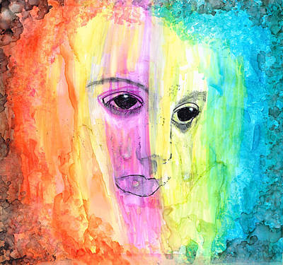 Painting - Rain by Kelly Dallas