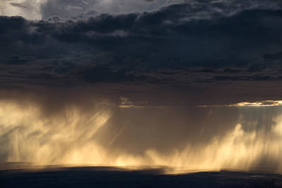 Photograph - Rain Light by Leland D Howard