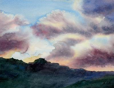 Painting - Rain? by Lori Chase