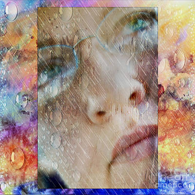Photograph - Rain On My Face Another Self Portrait by Debbie Portwood