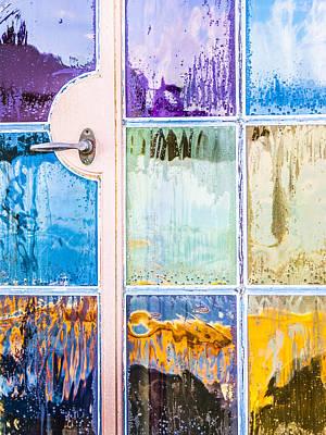Photograph - Rain On My Windows by Carolyn Marshall