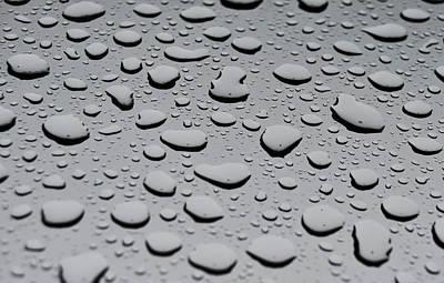 Rain On Sunroof Art Print