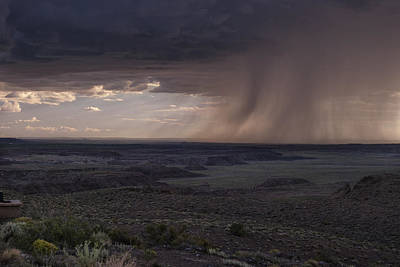 Photograph - Rain On The Horizon by Melany Sarafis