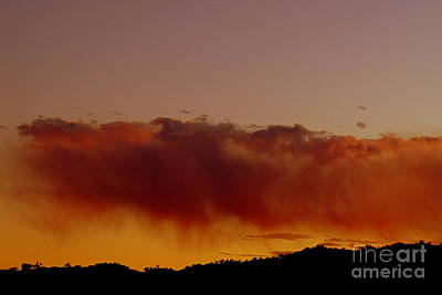 Photograph - Rain On The Mountain At Sunset by Mistys DesertSerenity