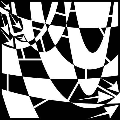 Windshield Drawing - Rain On The Windshield Maze  by Yonatan Frimer Maze Artist