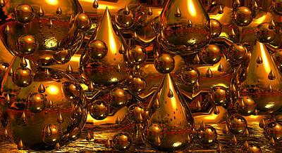 Rain Digital Art - Rain Or Shine by Robert Orinski
