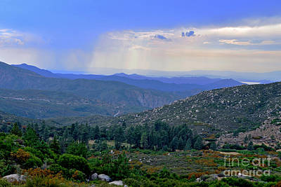 Photograph - Rain Over Diamond Valley by Third Eye Perspectives Photographic Fine Art