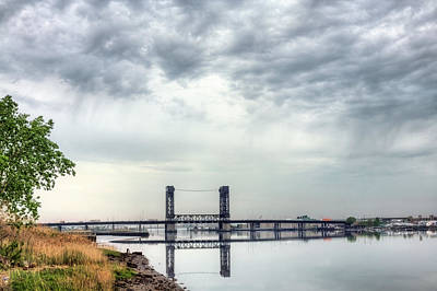 Photograph - Rain Over The Hackensack by JC Findley