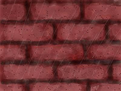 Digital Art - Digital Rain by Stacy C Bottoms