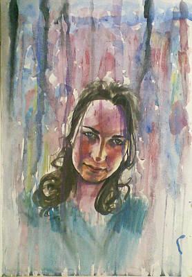 Painting - Rain by Vaidos Mihai