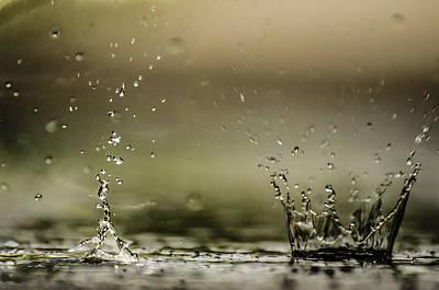 Photograph - Rain Walker by Alan Marlowe