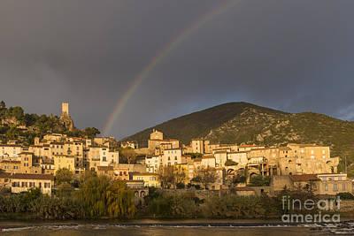 Roquebrun Photograph - Rainbow 1 by Iksung N