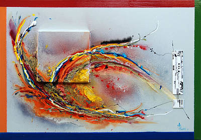 Rainbow - Abstract Art Original