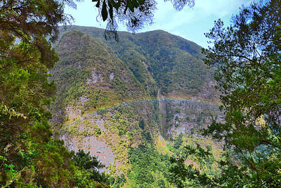 Cristiano Ronaldo Photograph - Rainbow. Amazing Mountains. Madeira.  by Andy Za