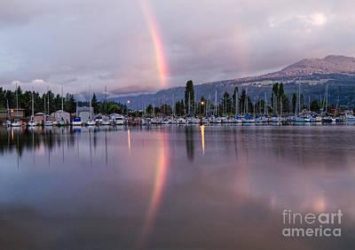 Photograph - Rainbow At Dawn by Stuart Gordon
