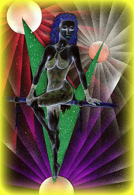 Digital Art - Rainbow Ballet by Kenneth Clarke