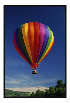 Photograph - Rainbow Balloon by Paul Miller