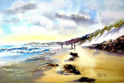 Charlton Painting - Rainbow Beach Queensland by Shirley Roma Charlton