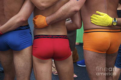 Photograph - Rainbow Bottoms by Amazing Jules