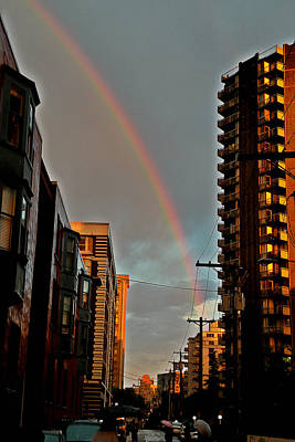 Photograph - Rainbow by Brian Chase