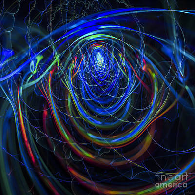 Digital Art - Rainbow Bridge by Arlene Sundby
