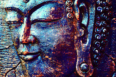 Photograph - Rainbow Buddha I by Jenny Rainbow