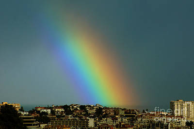 Photograph - Rainbow Closeup by Rod Jones