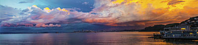 Rainbow Clouds Original