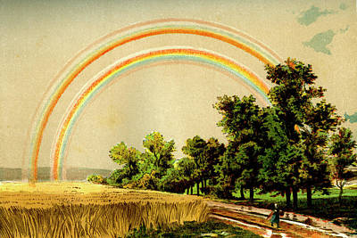 Refracted Light Photograph - Rainbow by Collection Abecasis