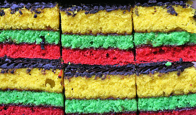 Porn Photograph - Rainbow Cookies by JC Findley