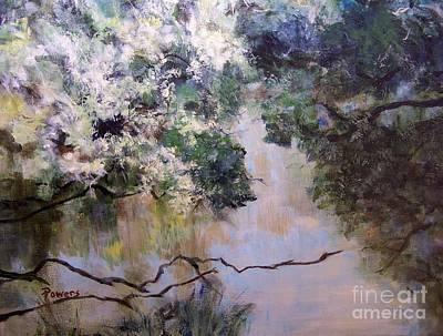 Rainbow Creek Art Print by Mary Lynne Powers