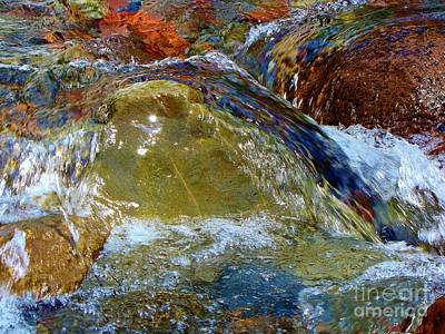 Photograph - Rainbow Creek by Michele Penner