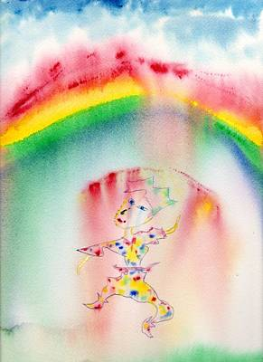 Painting - Rainbow Dance by Jim Taylor