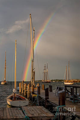 Photograph - Rainbow Evening by Susan Cole Kelly