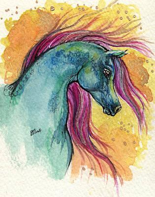 Rainbow Fairytale Horse Art Print