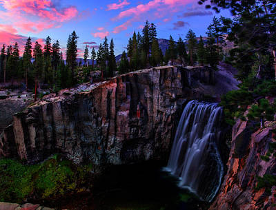Rainbow Falls Devil's Postpile National Monument Art Print by Scott McGuire